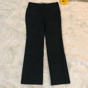 Ann Taylor Black Wide Leg Trouser Pant